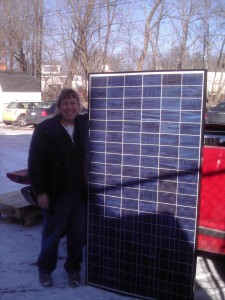 Evergreen ES-E 220 Watt Solar Panel