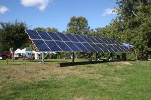 Solar Installation at the Festival