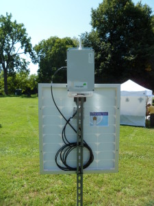 Once again WirelessYpsi was at the festival providing free solar powered wireless internet access.