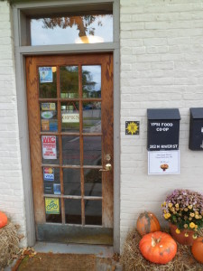 QR tag for the Ypsi Food Coop