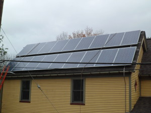 Solar Panels on 323 Oak Street