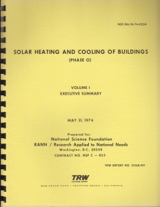 Solar Heating and Cooling of Buildings Executive Summary