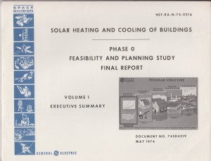 Solar Heating and Cooling of Buildings Feasibility Study