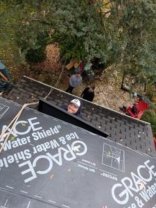 Raising the first solar panel