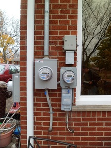 "Bidirectional and ""on demand"" electric meters"