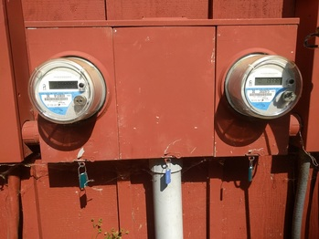 Geothermal and bidirectional utility meters