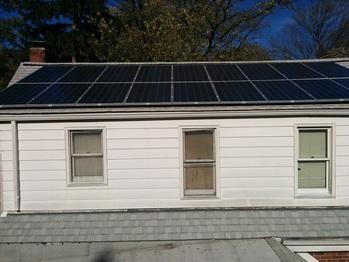 Final solar installation