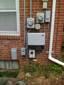 Inverter and utility meters