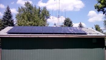 14 solar panels installed