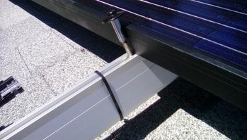 UFO solar panel bolts