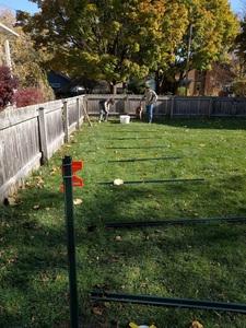Sinking posts in the ground