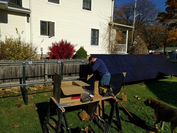 Installing optimizers and panels