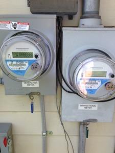Generation meter installed