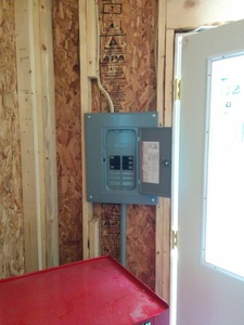 Existing electrical service