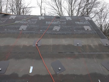 Roofing around the FlashFoot2
