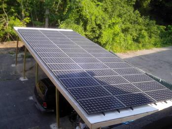 403 Huron Solar Panels