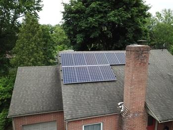 Finished Solar Installation