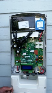 Inverter with the cover off