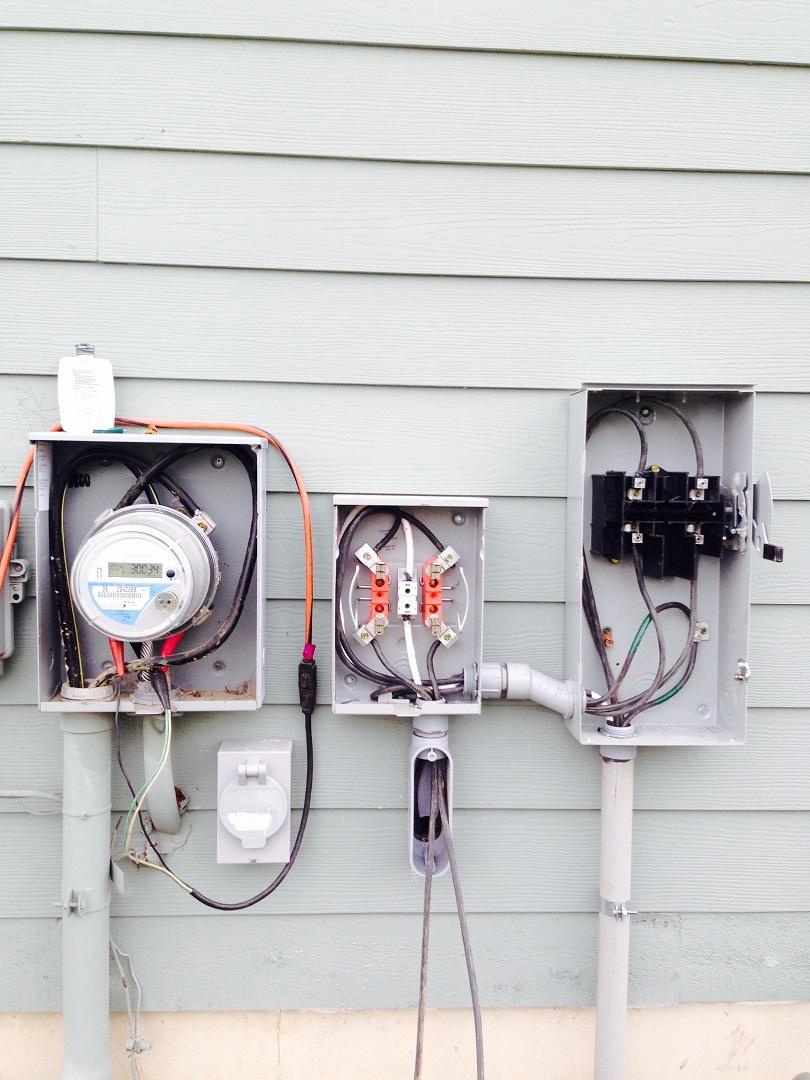 Solarypsi Ypsilanti Michigan Installations Site Info Wiring A Meter Socket Bidirection Generation And Solar Disconnect