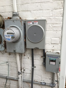 Bi-directional meter, generation meter and solar disconnect