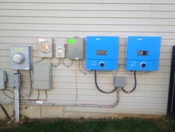 Installed inverters