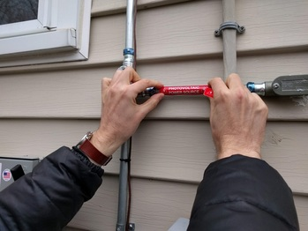 Labeling the conduit