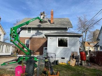 Removing the chimney