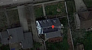 Finished solar installation, Google Maps