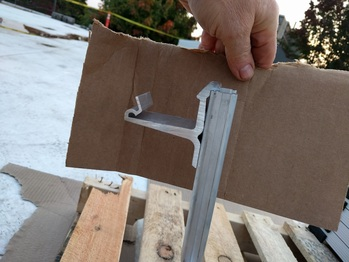 UniRac clips for solar panels