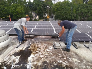 Installing panels