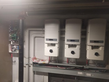 New inverter on the left