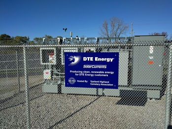 DTE Energy solar installation