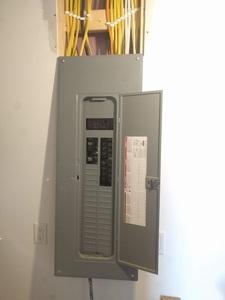 Breaker panel ready for solar power