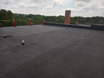 Roof before solar installation
