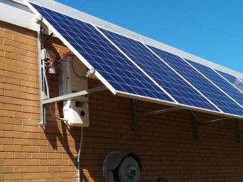 Solar awning