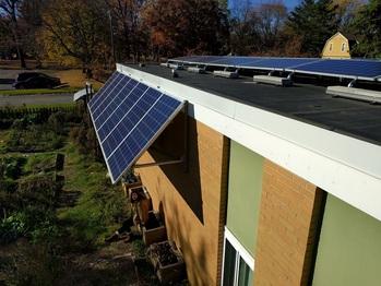 Finish solar instllation