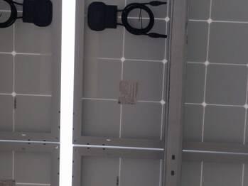 Under solar car port