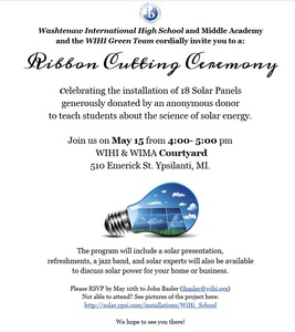 Ribbon Cutting Poster