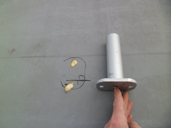 Solar panel rail roof standoff