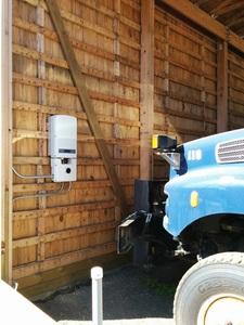 Inverter in the carport