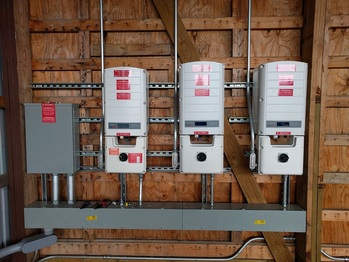 Expansion: Inverters installed