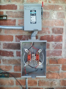 Solar Generation Meter Socket and Disconnect