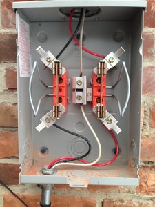 Rewiring of Generation Meter Socket - socket